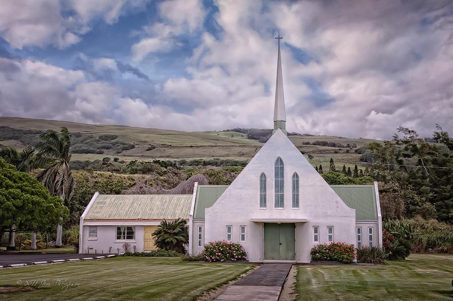Hawaii Photograph - The Church by Jim Thompson