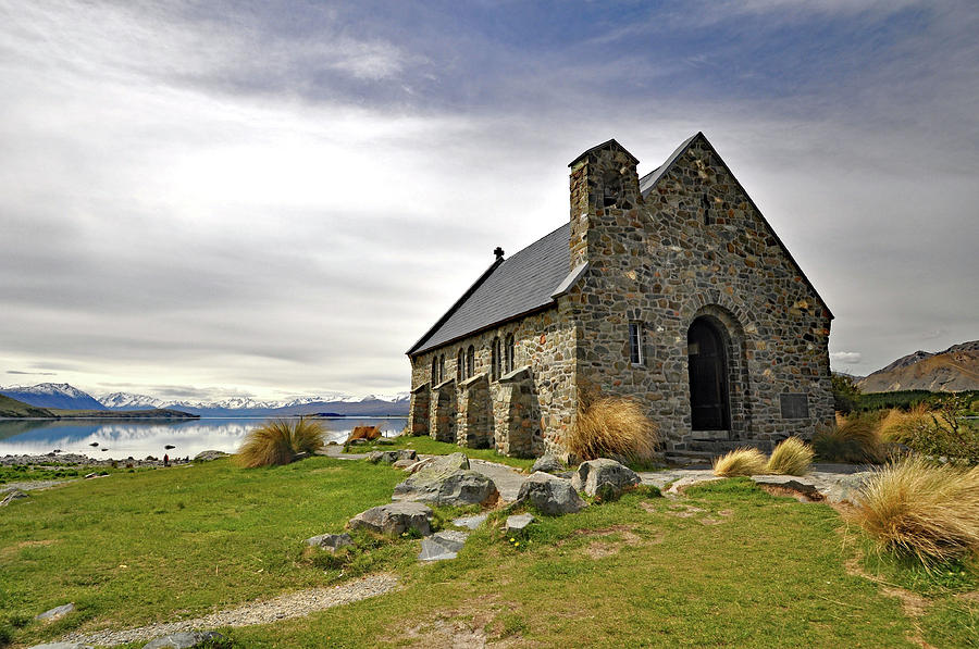 The Church Of The Good Shepherd, Lake Tepeko, New Zealand
