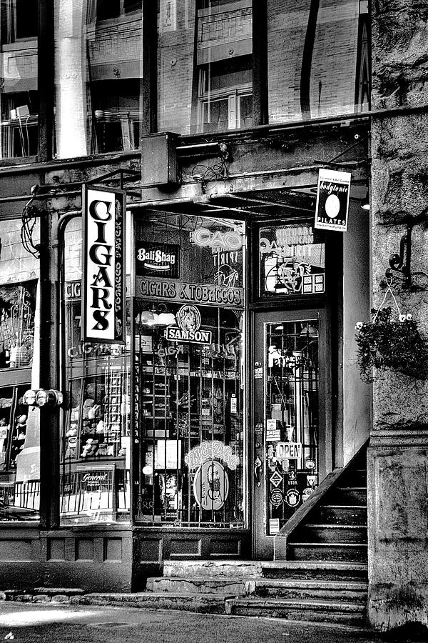 The Cigar Store Photograph - The Cigar Store by David Patterson