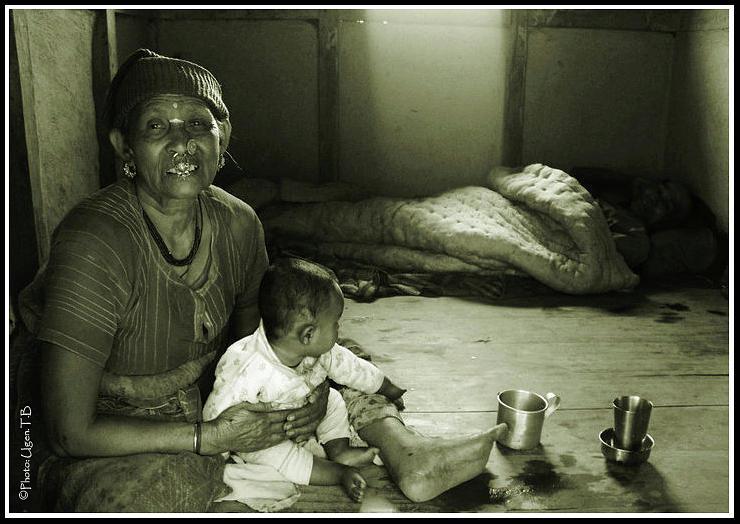 Women Photograph - The Circle Of Life by Ugen Tenzing Bhutia