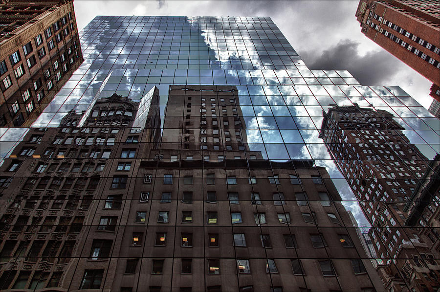 Reflections Photograph - The City by Robert Ullmann