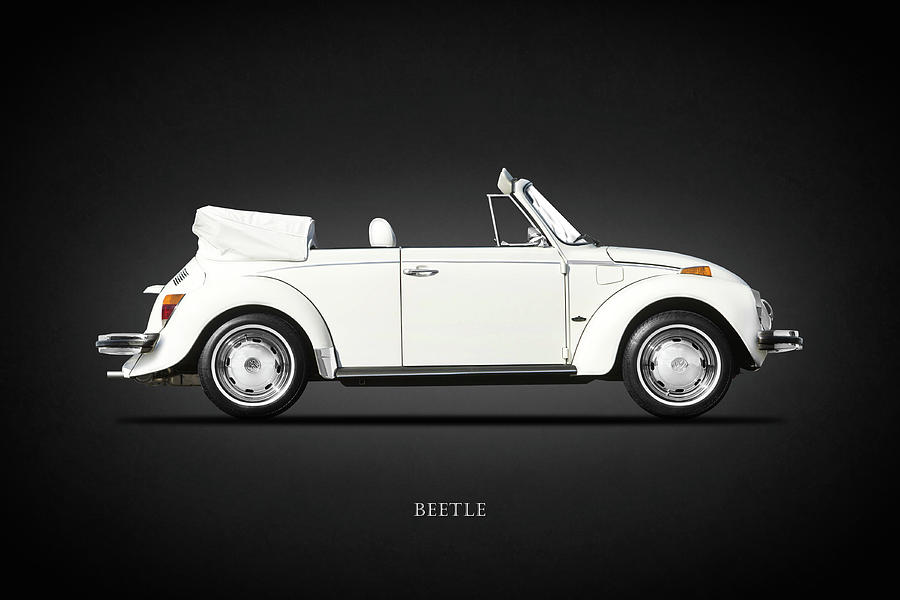 Vw Beetle Photograph - The Classic Beetle by Mark Rogan