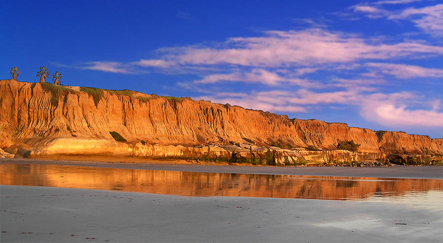 The Cliffs At Sunset Photograph by Chuck Cannova