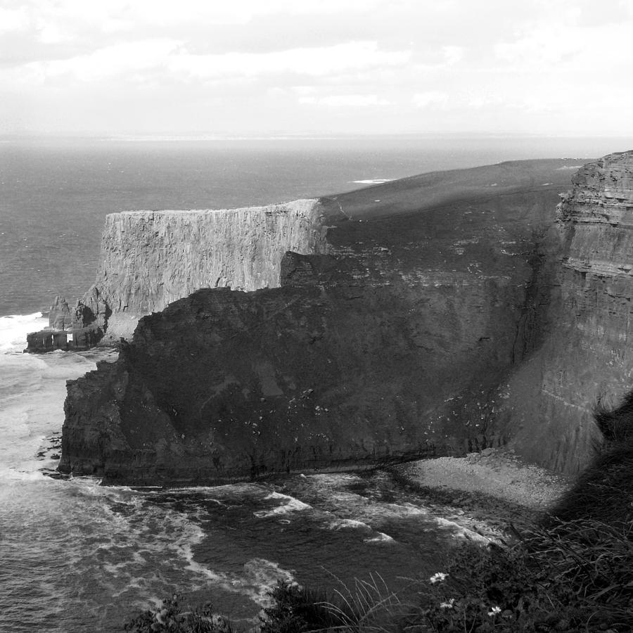 Ocean Photograph - The Cliffs Of Mohar II - Ireland by Mike McGlothlen