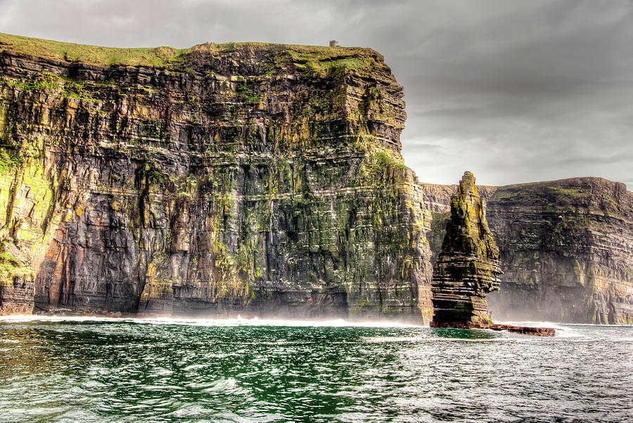 Atlantic Ocean Photograph - The Cliffs Of Moher by Natasha Bishop