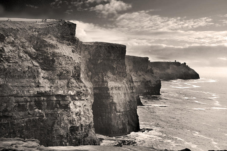 Moher Cliffs Photograph - The Cliffs Of Moher by Robert Lacy