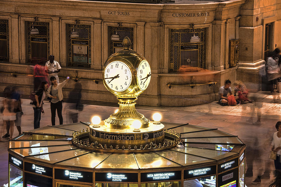 Clock Photograph - The Clock by Michael Tischler