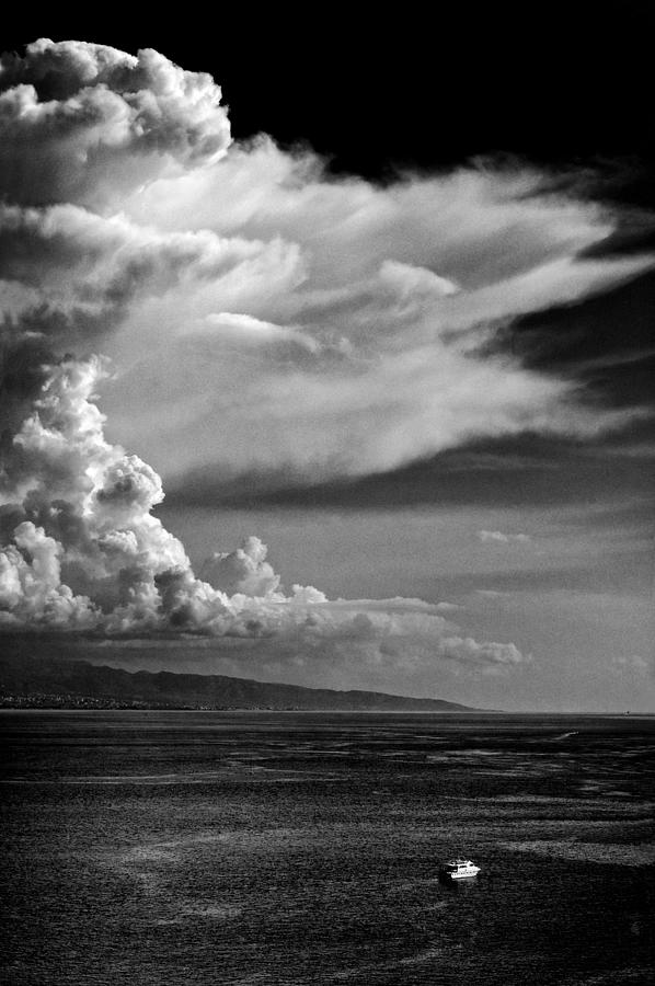 Cloud Photograph - The Cloud by Silvia Ganora