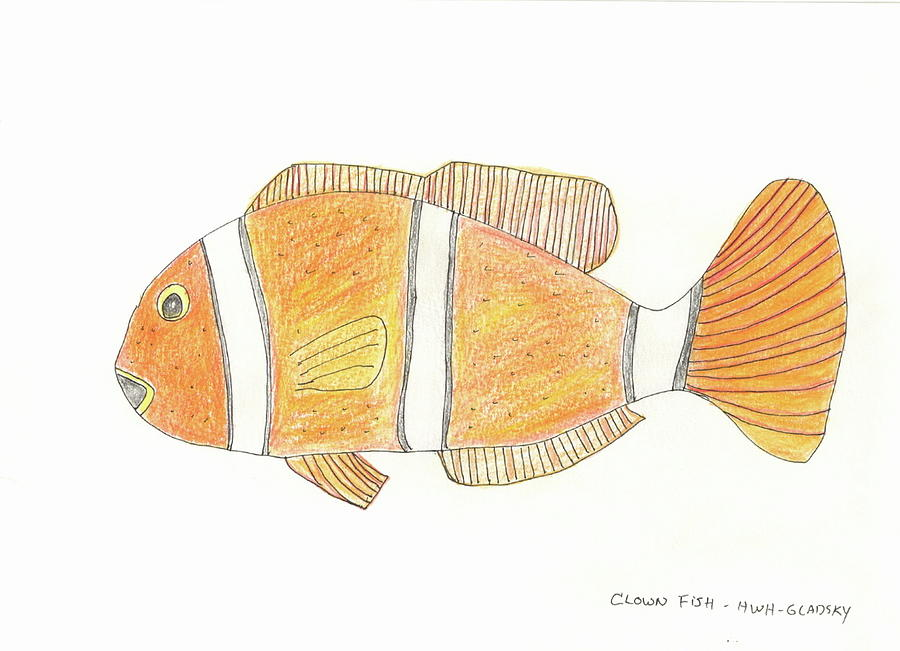 The Clown Fish by Helen Holden-Gladsky