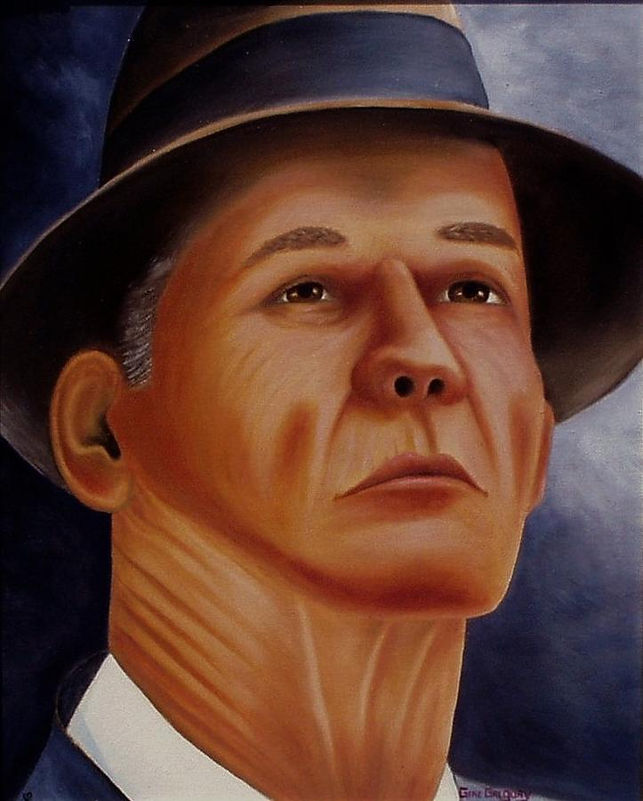 Portrait Painting - The Coach by Gene Gregory