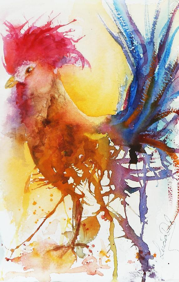 The Cockerel by Lucia Del