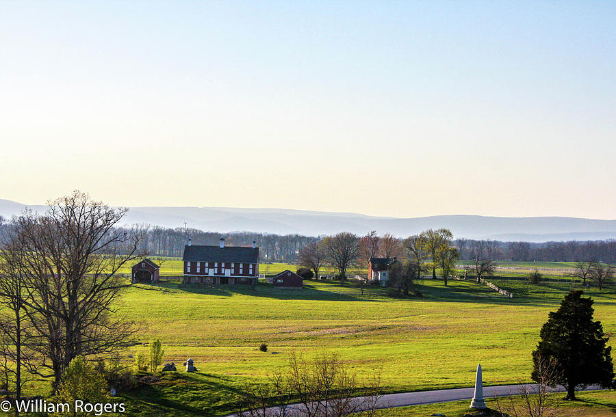Gettysburg Battlefield Photograph - The Codori Barn by William Rogers