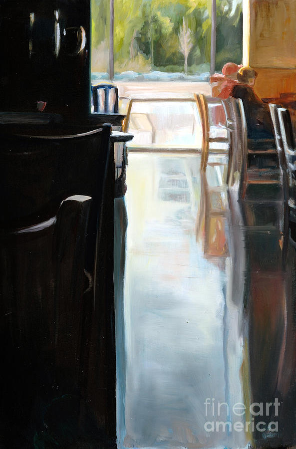 Interior Painting - The Coffee House by Barbara Wilson