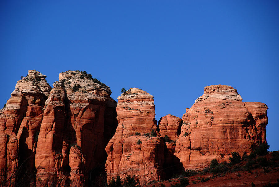 Sedona Photograph - The Coffee Pot by Susanne Van Hulst