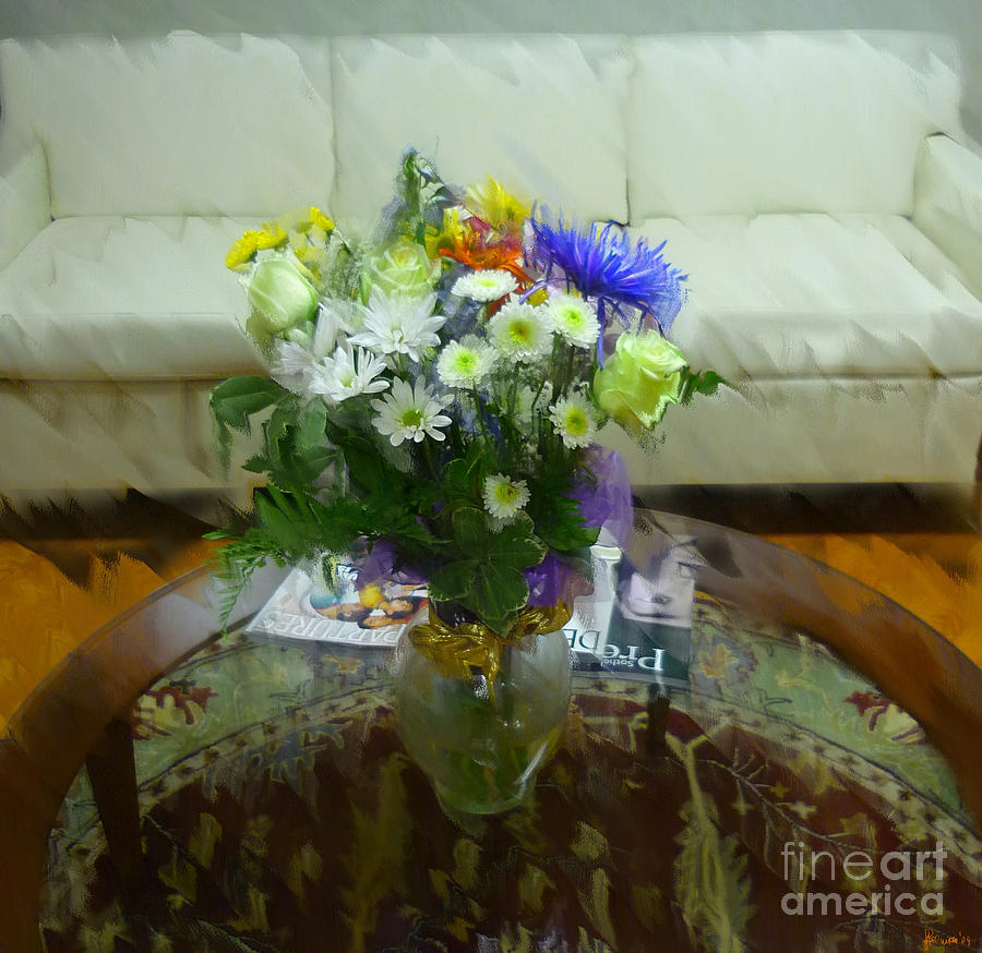 Table Photograph - The Coffee Table by Jeff Breiman