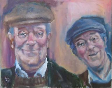 The Cohen Brothers Painting - The Cohen Brothers by Kevin McKrell
