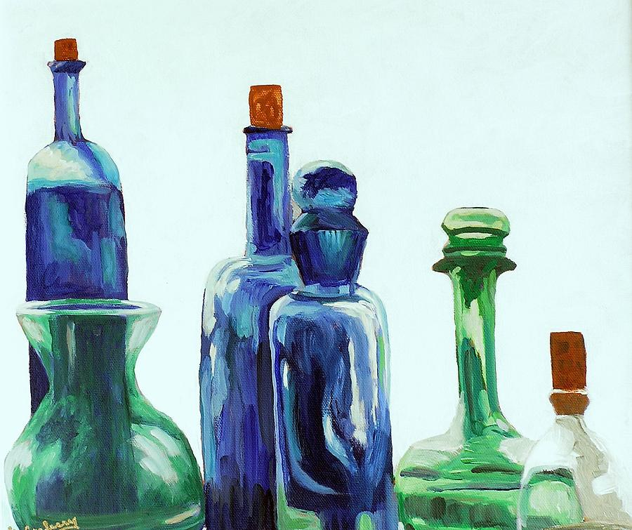 Glass Painting - The Collection by Laura Carberry