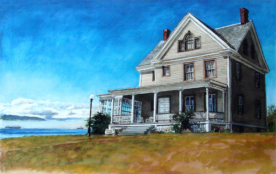 Old House Painting - The Colonels House by Perry Woodfin