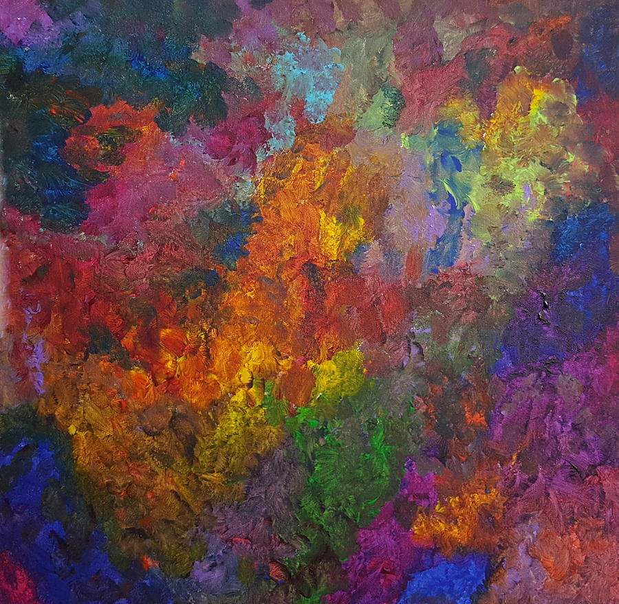 the color explosion painting by kristi kellyart