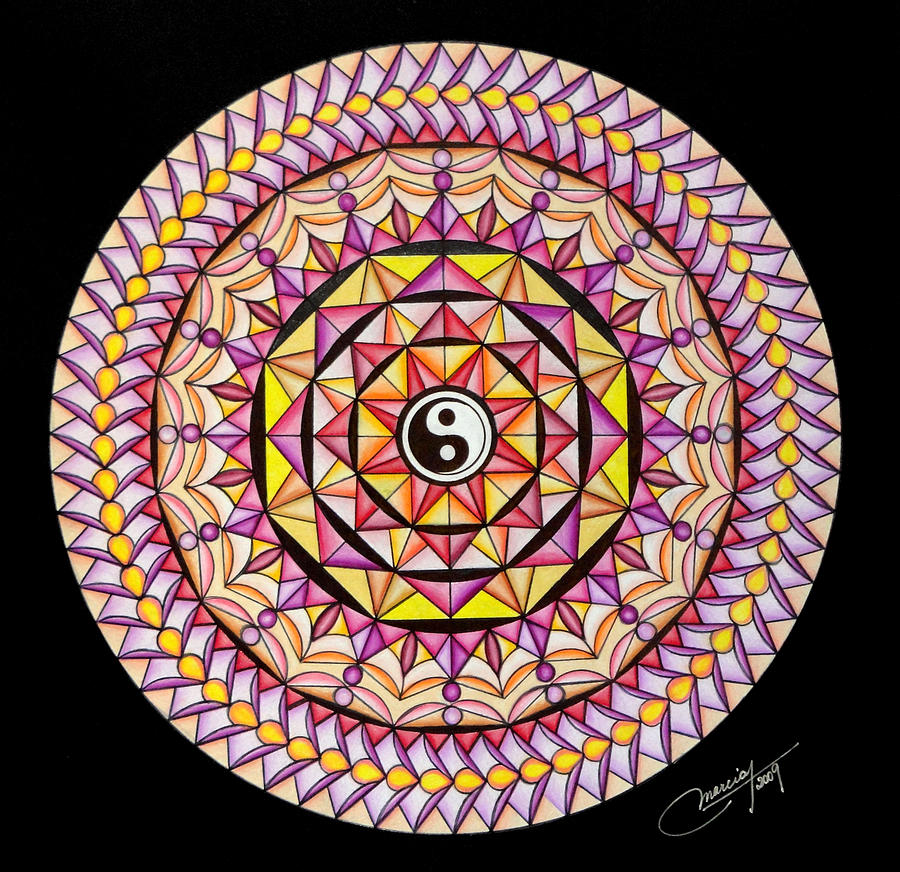 Mandala Painting - The Color Of Hapiness by Marcia Lupo