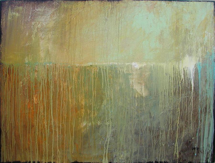 Abstract Painting - The Color Of Summer by Sabina Surya Naya