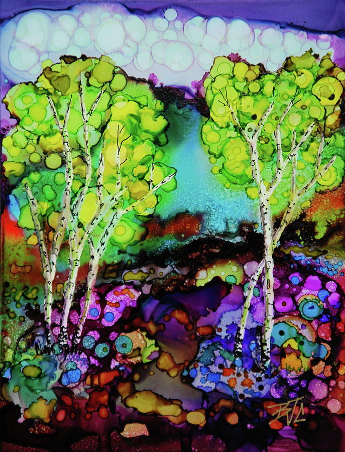 Colorful Landscape Painting - The Colors of Colorado by Billie Colson