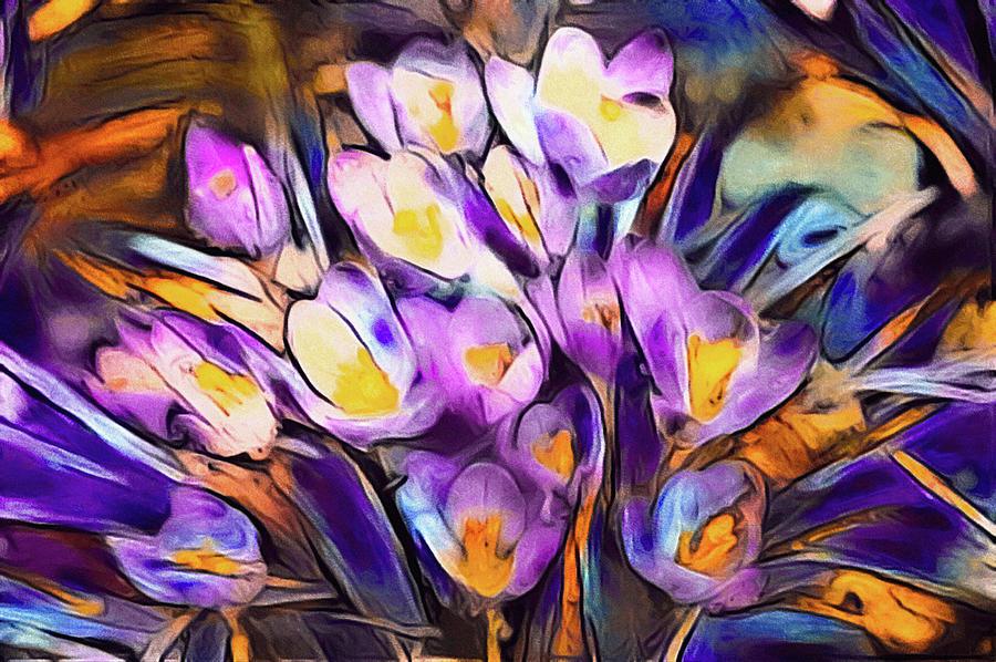The Colors of Crocus by Susan Maxwell Schmidt