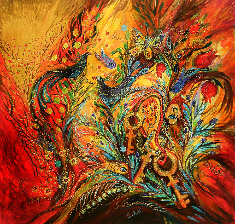 Original Painting - The Colors Of Sunrise by Elena Kotliarker