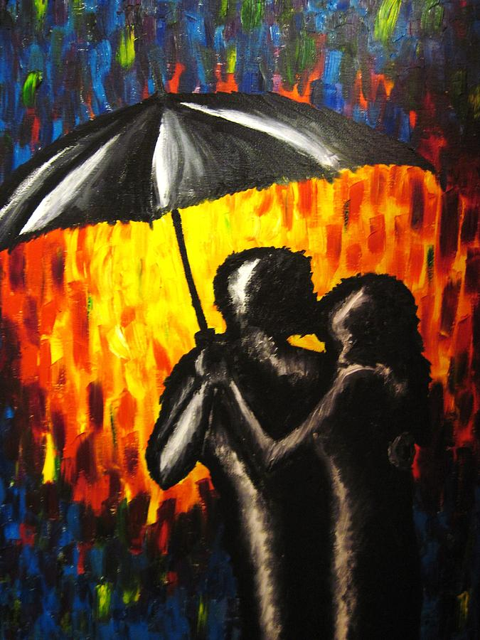 Love Painting - The Colour Of Love by Michele Leech
