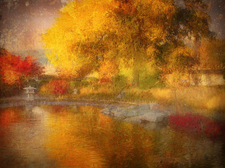 Autumn Photograph - The Colours I See When I Dream Of You by Tara Turner