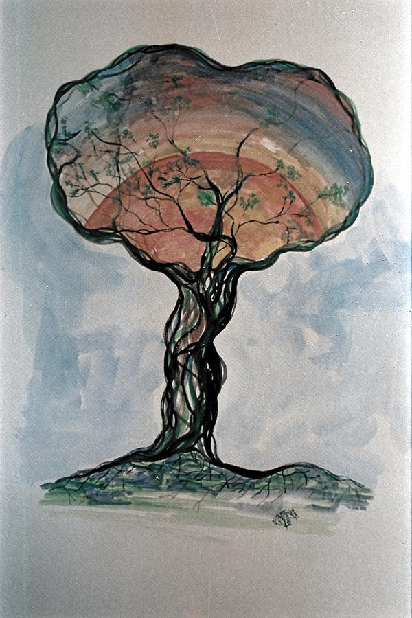 Tree Painting - The Coming Of Spring by Roy Woods