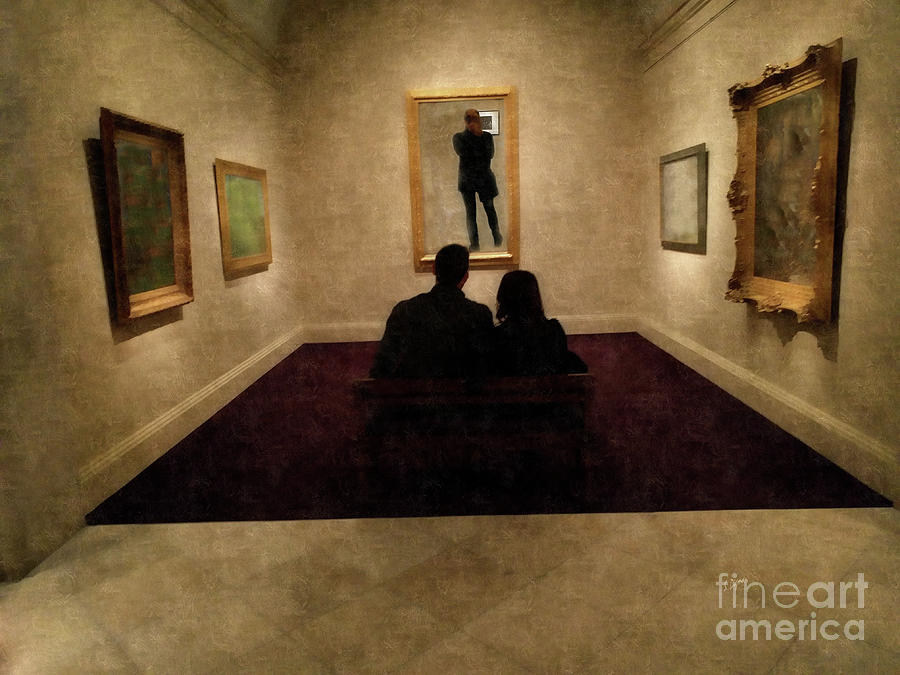 Gallery Photograph - The Conceptual Lovers  by Steven Digman