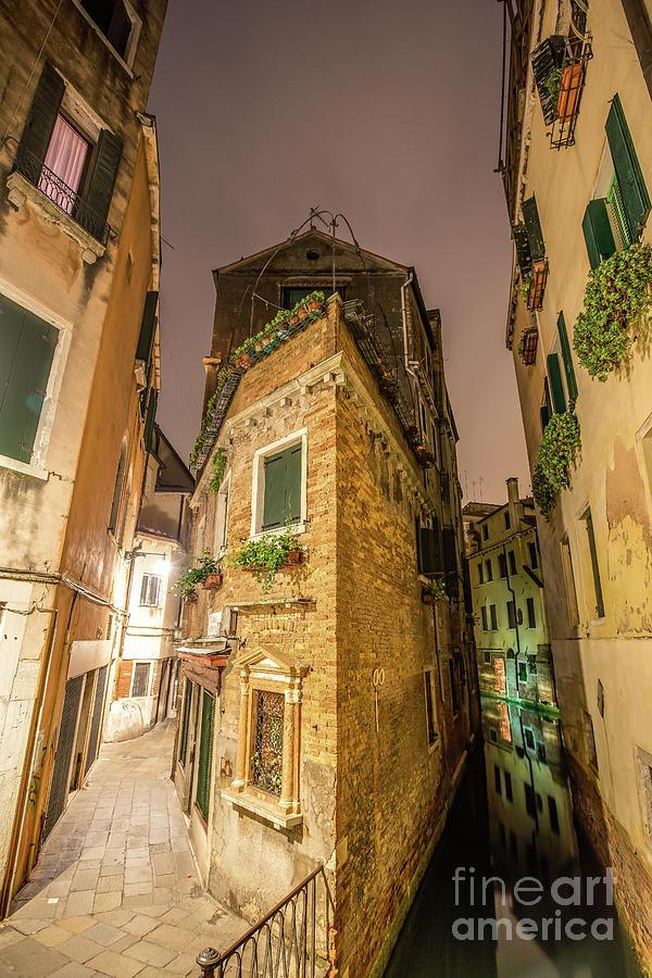 Venice Photograph - The Corner by Jonathan Painter
