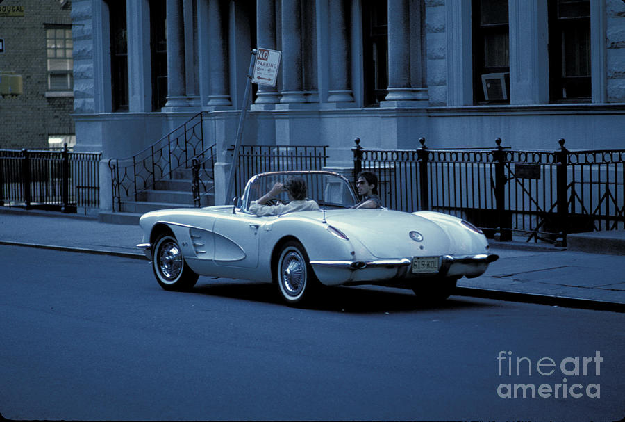 People Photograph - The Corvette by Marc Bittan