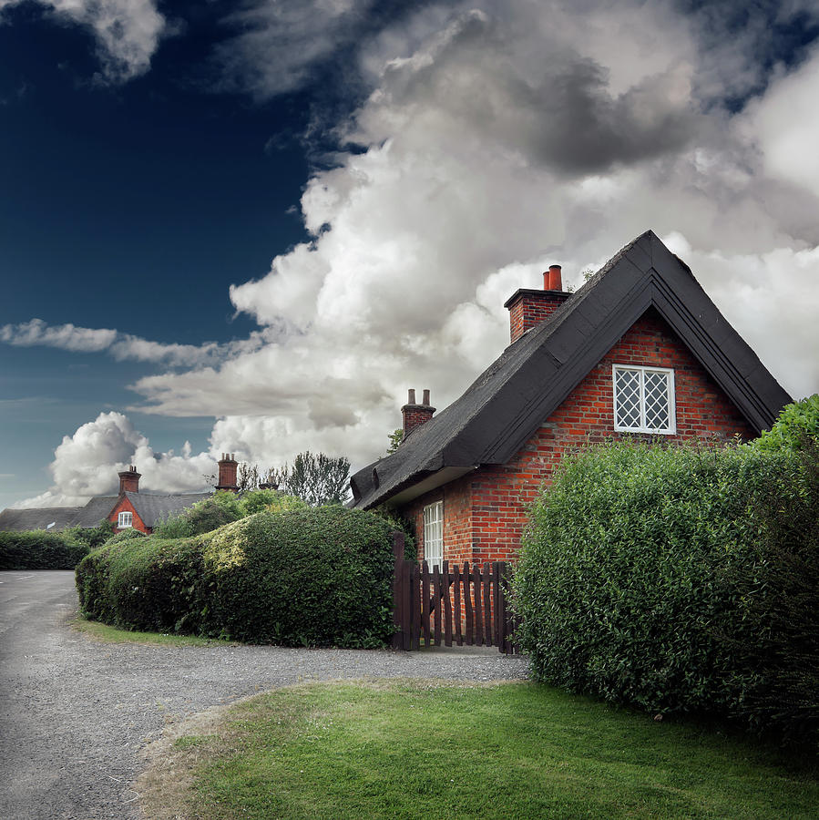 The Cottage Photograph - The Cottage by Ian David Soar