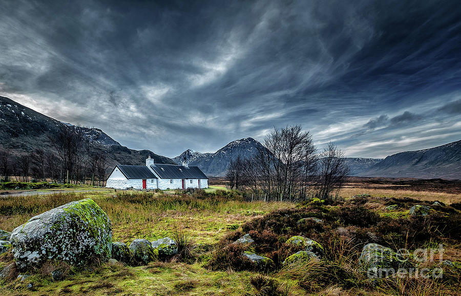Landscape Photograph - The Country Home by Sinclair Adair