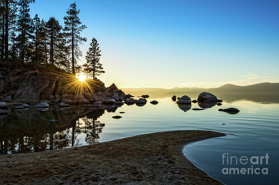Sand Harbor Photograph - The Cove at Sand Harbor by Jamie Pham