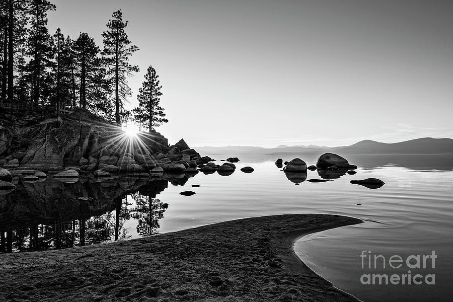 Sand Harbor Photograph - The Cove by Jamie Pham