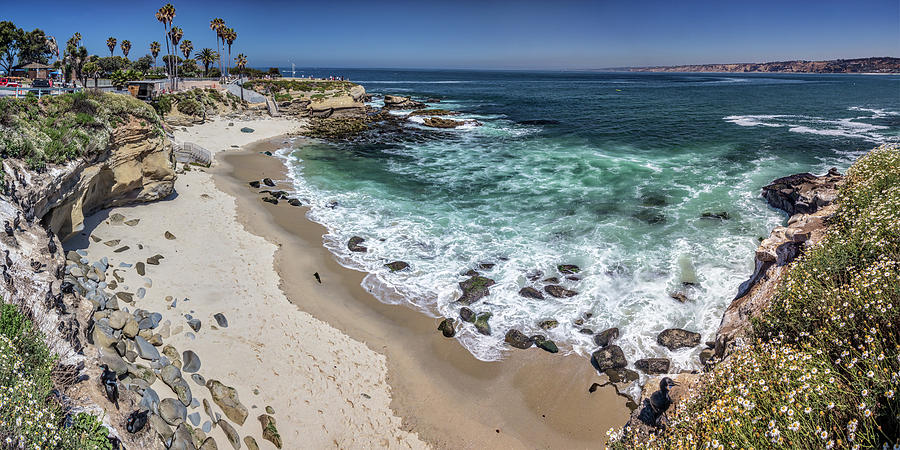 Aqua Photograph - The Cove by Peter Tellone