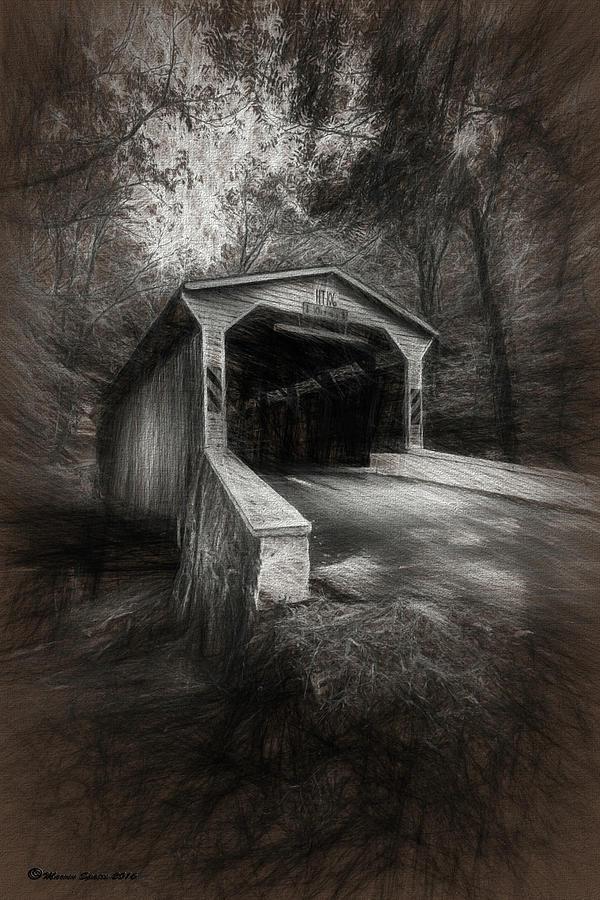 Philadelphia Photograph - The Covered Bridge by Marvin Spates