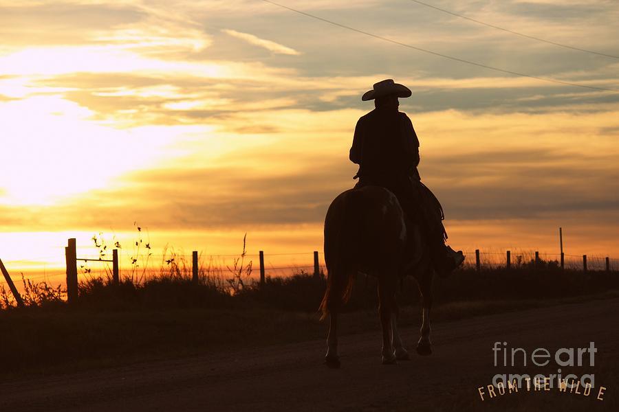 The Cowboy Rides Away Photograph By Keri Engelhaupt