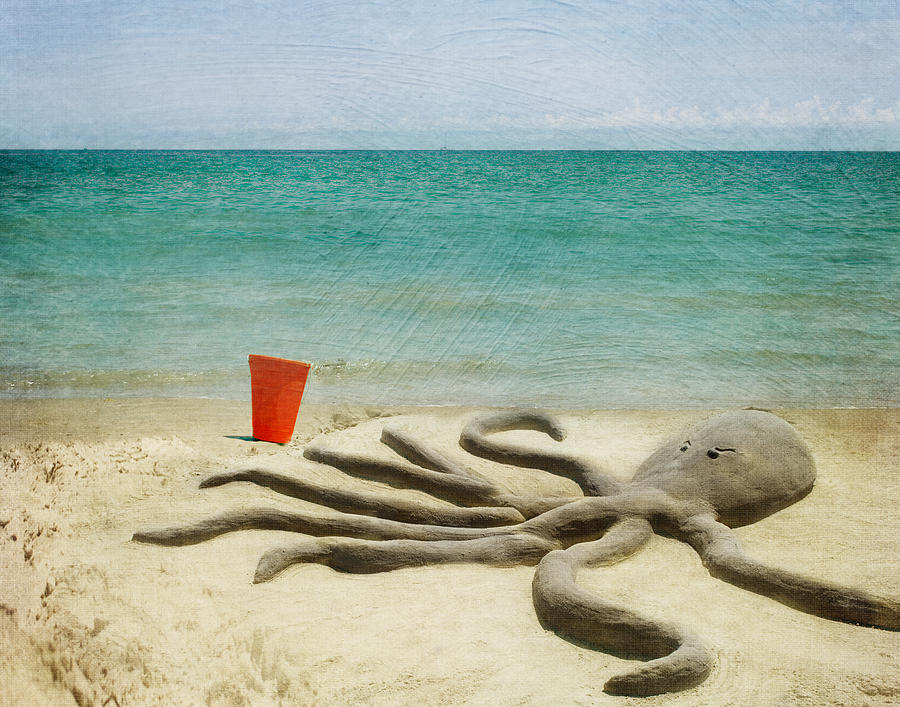 Ocean Photograph - The Creature by Juli Scalzi