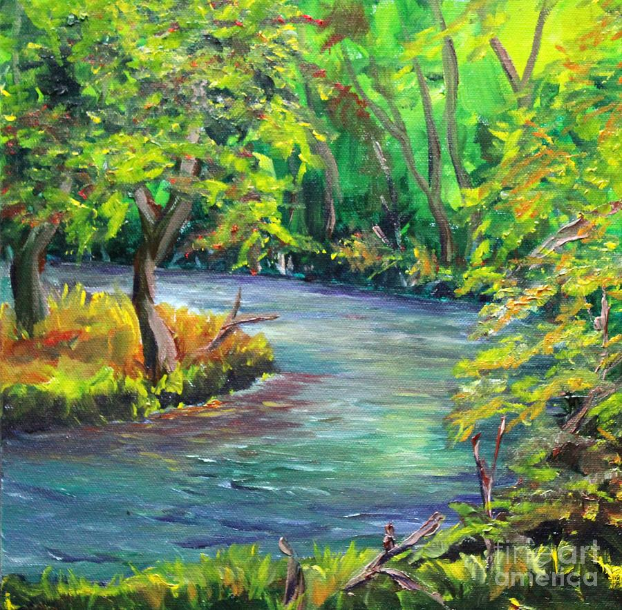 The Creek by Linda Steine