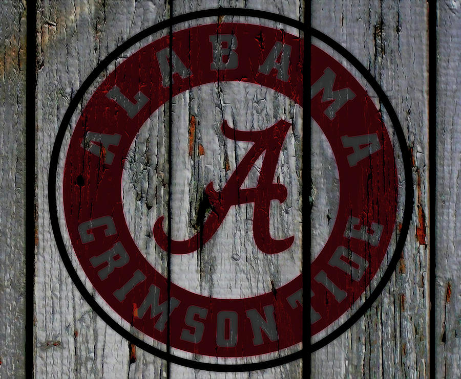 Wood Mixed Media - The Crimson Tide 01w by Brian Reaves