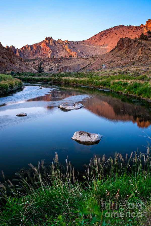 The Crooked River Runs Through Smith Rock State Park  by Bryan Mullennix