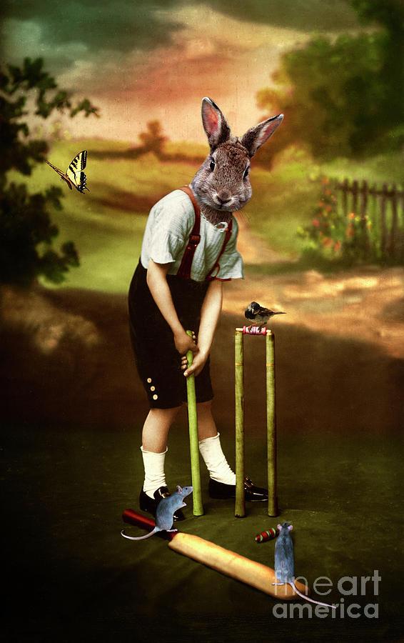 The croquet boy by Martine Roch