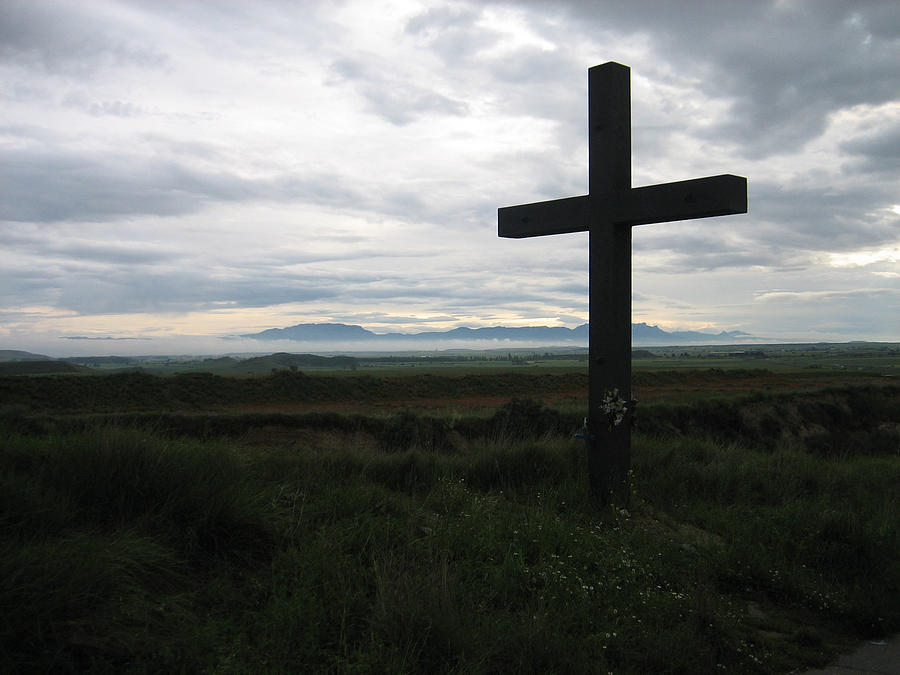 Christianity Photograph - The Cross by Oliver Johnston