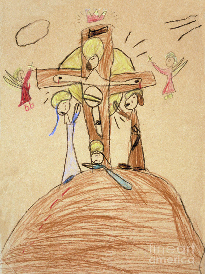 The Crucifixion By Fr. Bill at age 5 by William Hart McNichols