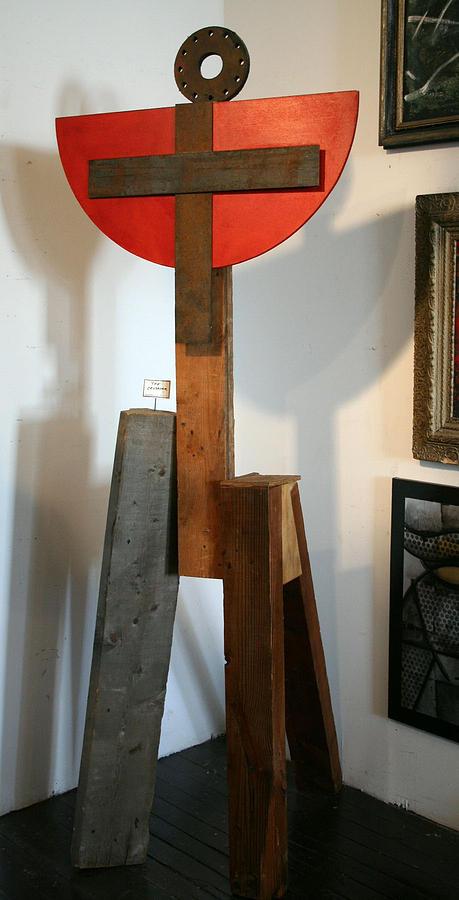 Sculpture Sculpture - The Crusader by Bryan Sperry