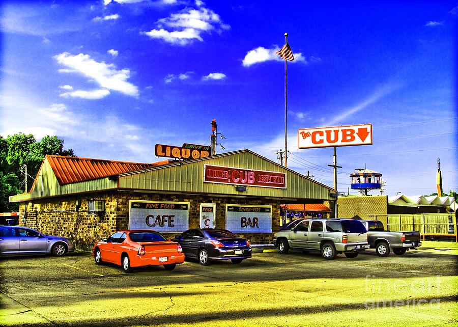 Restaurant Photograph - The Cub by Scott Pellegrin